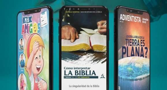Todos los números de la Revista Adventista y de la revista Mis Amigos, on line y gratis