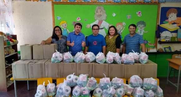 Iglesia Adventista en Chile ayudando en tiempos de Crisis