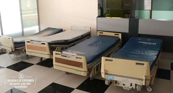 15 camas hospitalarias fueron dispuestas a hospital de contingencia por clínica adventista