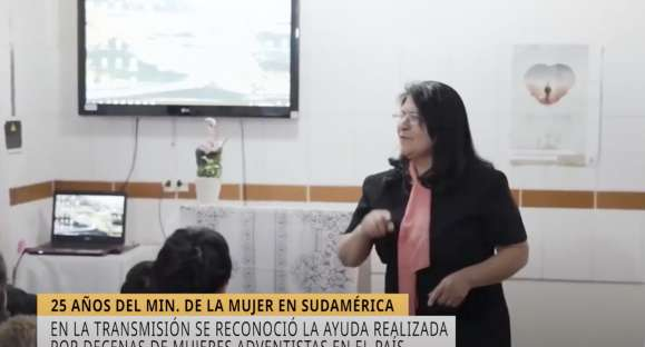 """""""Sábado Misionero"""" y los 25 años del Ministerio de la Mujer"""