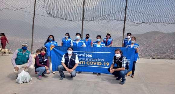 Agencia humanitaria instala comités comunitarios anticovid
