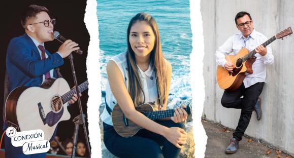 Conexión Musical – Edson Nuñez, Kuiny Romero y Rodrigo Wegner