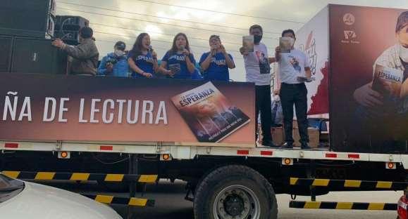 Concierto móvil recorre las calles de Lima impartiendo esperanza