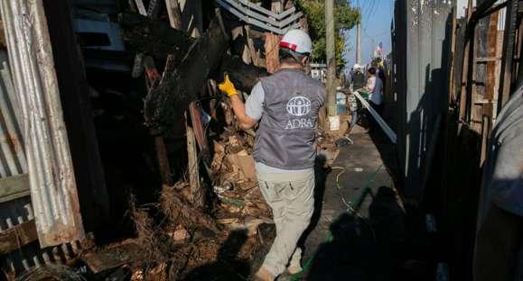 DRA Chile atiende en emergencia Valparaíso y Cajón del Maipo