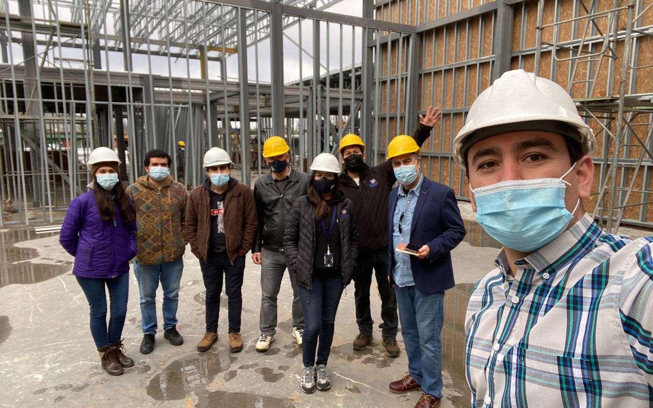Equipo Nuevo Tiempo realiza visita a la construcción de su nuevo edificio