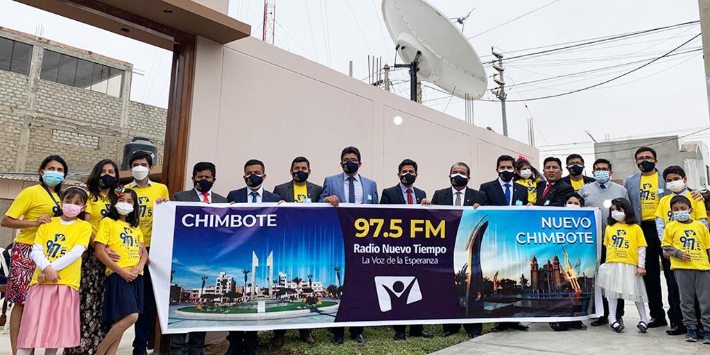 Se inaugura señal de Radio Nuevo Tiempo que alcanzará a medio millón de personas